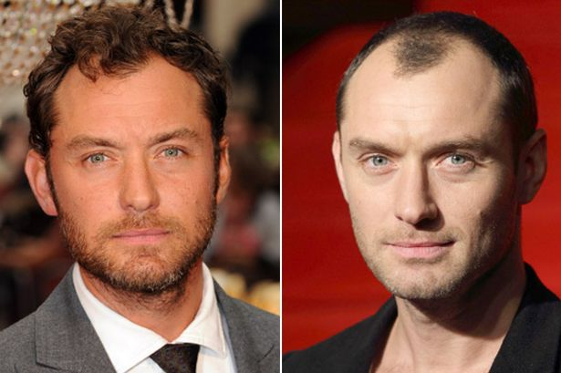 jude law before and after