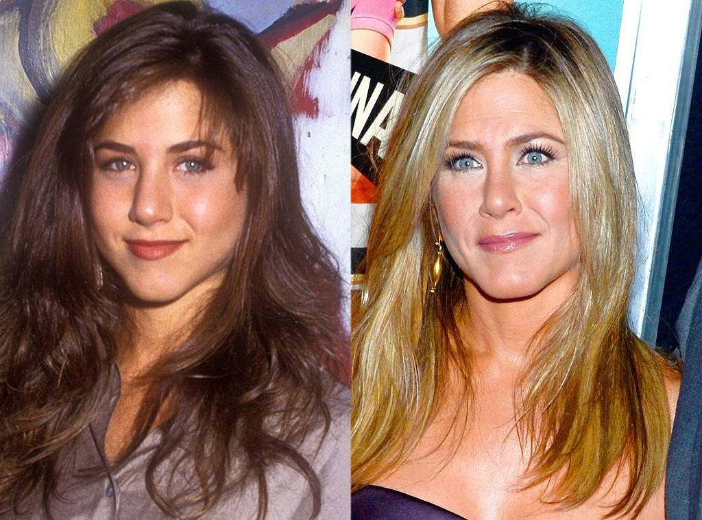 jennifer aniston before and after